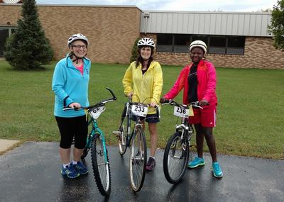 "3/4 Cross Cyclists ""Pedal Down Poverty"" with Outreach for Hope"